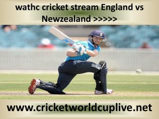 Newzealand vs England-wc live