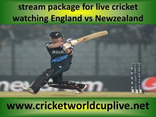 smart phone stream cricket ((( Newzealand vs England )))