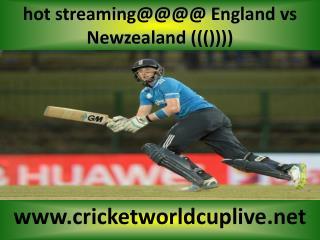 IOS stream cricket ((( Newzealand vs England )))