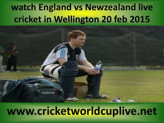 watch Newzealand vs England cricket match online live in Wel