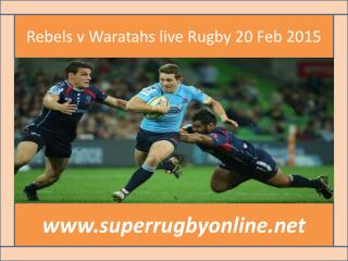how to watch Rebels vs Waratahs online Super Rugby match on