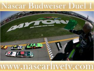 Watch Nascar Budweiser Duel 1 Race Sprint Cup