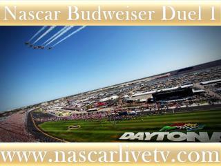 Nascar Budweiser Duel 1 Race Live