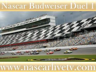 Nascar Budweiser Duel 1 Race 19 february 2015