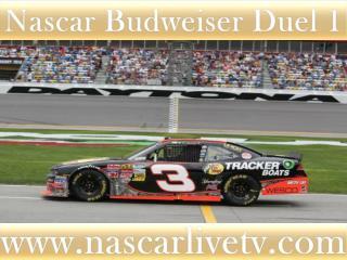Watch Nascar Budweiser Duel 2 Race Live Telecast