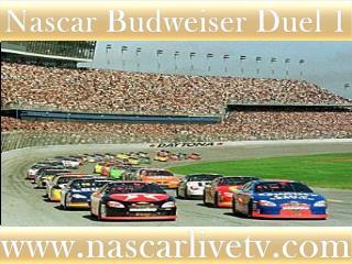 Watch Budweiser Duel 1 daytona