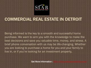 Buy Property in Detroit