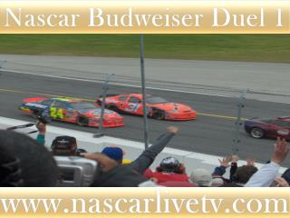 Nascar Sp Cup Budweiser Duel 2 Race Live Online