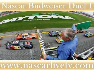 Nascar Budweiser Duel 1 Race Live Online