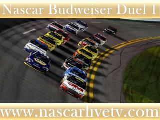 Nascar Budweiser Duel 1 Race Live Streaming