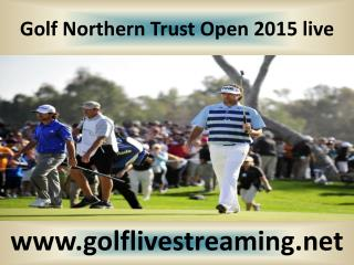 watch Northern Trust Open Golf 2015 streaming hd