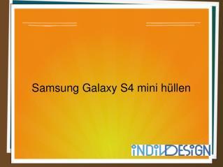 Samsung Galaxy S4 mini h�llen Produkt-Designs mit Preisen -