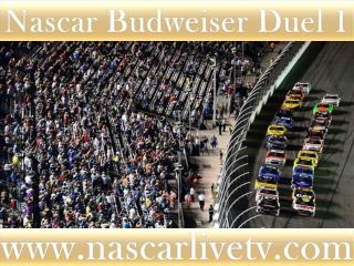 WATCH Budweiser Duel 1 AT DAYTONA HD STREAM