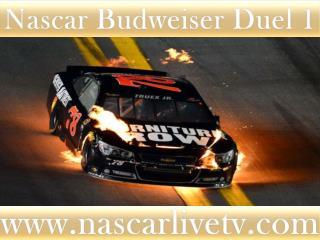 WATCH Budweiser Duel 1 AT DAYTONA ONLINE