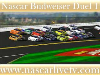 WATCH STREAM (( Budweiser Duel 1 AT DAYTONA))