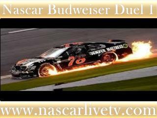watch Budweiser Duel 1 at Daytona live