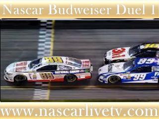 NASCAR Budweiser Duel 1 AT DAYTONA LIVE