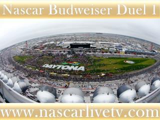 2015 Budweiser Duel 1 AT DAYTONA LIVE
