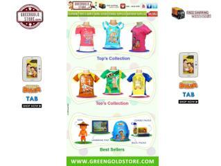 Chota Bheem Dress : Green Gold Store