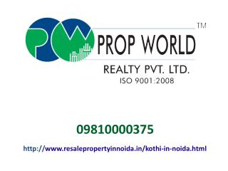 Kothi In Noida For Sale And Rent