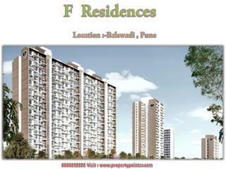 F Residences Balewadi- Pune