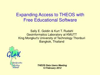 Expanding Access to THEOS with  Free Educational Software