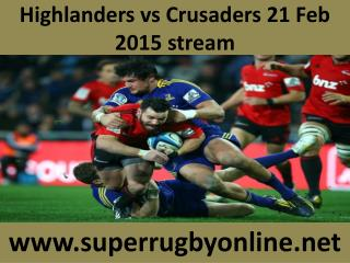 Highlanders vs Crusaders, Live Streaming, HD, Super Rugby 20