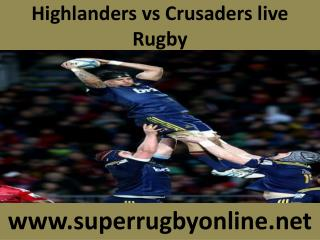 where streaming Rugby between ((( Highlanders vs Crusaders )