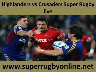 looking hot match ((( Highlanders vs Crusaders ))) live Rugb