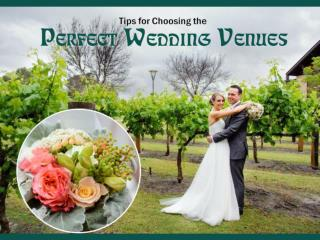 How to Choose the Perfect Wedding Venues in Perth