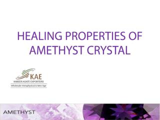 Healing Crystal Amethyst Exporters India