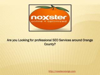 Are you Looking for professional SEO Services around Orange