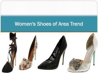 Women's Shoes of Area Trend