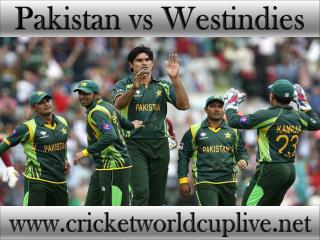 Pakistan vs Westindies live cricket 21 feb 2015