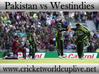 Pakistan vs West indies 21 feb 2015 live cricket