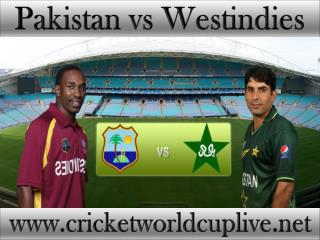Pakistan vs West indies, Live Streaming, HD, ICC Cricket Wor