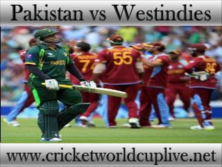 Pakistan vs West indies 21 feb 2015 stream