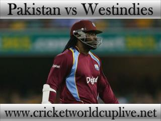watch streaming >>>> Pakistan vs West indies live 21 feb