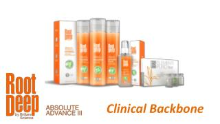 Root Deep Absolute Advance III - Clinical Backbone