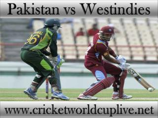 where to watch Pakistan vs West indies live cricket match