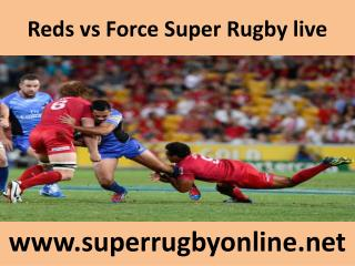 Force vs Reds, Live Streaming, HD, Super Rugby 2015