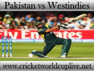 watch Pakistan vs West indies cricket match in Christchurch