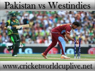 watch Pakistan vs West indies live cricket in Christchurch 2