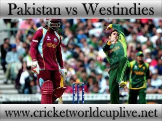watch Pakistan vs West indies live cricket match online feb