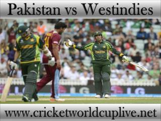 you crazy for watching Pakistan vs West indies online cricke