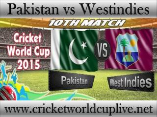 ((( Pakistan vs West indies ))) Live cricket stream