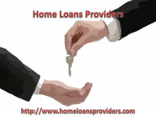 List of Home Loans Providers in USA