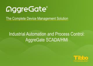 AggreGate SCADA/HMI