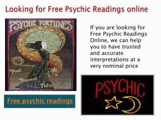 Free Psychic Readings Online | Love Psychic Readings