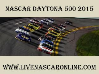 watch Nascar Daytona 500 2015 race live on tabs